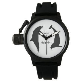 Relógio De Pulso Salvar golfinhos