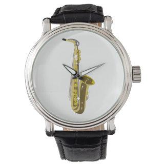 Relógio De Pulso Saxofone