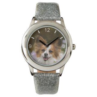 Relógio De Pulso Seletor-placa bonito dos amantes do cão da foto do