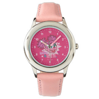 Relógio De Pulso Sesame Street | Abby Cadabby - faísca & brilho