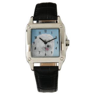 Relógio De Pulso Sheepdog polonês da planície