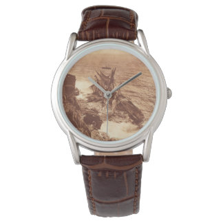 Relógio De Pulso Shipwreck do vintage - foto da antiguidade do