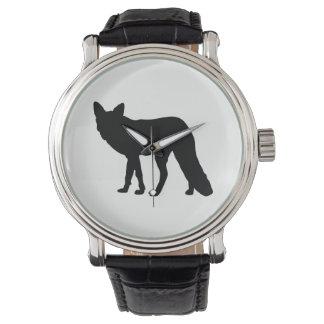 Relógio De Pulso Silhueta do Fox