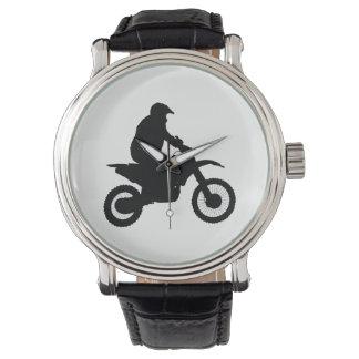 Relógio De Pulso Silhueta do motocross