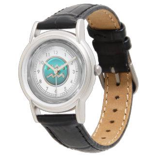 Relógio De Pulso Símbolo astrológico do Aquário