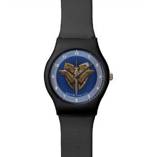 Relógio De Pulso Símbolo da mulher maravilha com a espada de