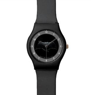 Relógio De Pulso Símbolo metálico da liga de justiça | Batman