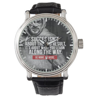 Relógio De Pulso Sucesso e aprendizagem - inspiração do exercício