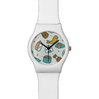 Relógio De Pulso Sushi. japoneses bonitos Assorted de Kawaii