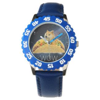 Relógio De Pulso Taco do Doge - doge cão-bonito do doge-shibe-doge