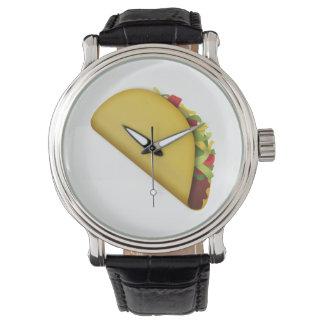 Relógio De Pulso Taco - Emoji