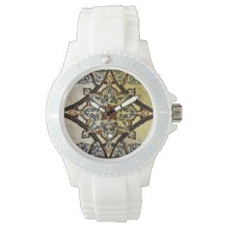 Relógio De Pulso Tapete oriental de creme