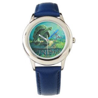 Relógio De Pulso Tartaruga e a arte da lebre