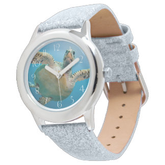 Relógio De Pulso Tartaruga impressionante do mar