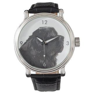 Relógio De Pulso Tempo do cão de Terra Nova