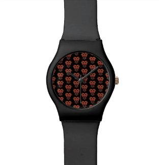 Relógio De Pulso Teste padrão de conversação escuro