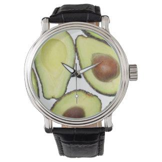 Relógio De Pulso Teste padrão do abacate