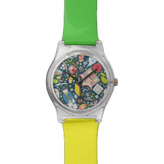 Relógio De Pulso Teste padrão sem emenda japonês