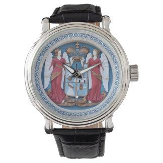 Relógio De Pulso timiso ortodoxo do estuque do símbolo da religião