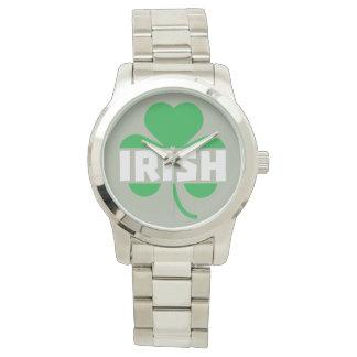Relógio De Pulso Trevo irlandês Z2n9r do cloverleaf