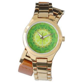 Relógio De Pulso Um Fractal da armadilha do Succulent