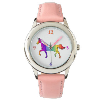 Relógio De Pulso Unicórnio colorido