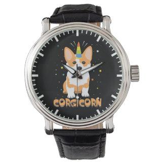 Relógio De Pulso Unicórnio do Corgi - Corgicorn - desenhos animados