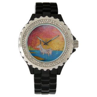 Relógio De Pulso Unicórnio na maré baixa