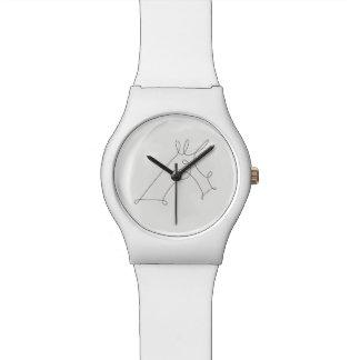 Relógio De Pulso Unicórnio Scribbled V3