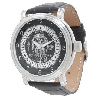 Relógio De Pulso Universidade CTHULHU HP LOVECRAFT de Miskatonic