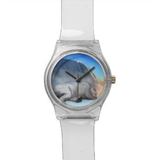 Relógio De Pulso Urso polar - 3D rendem