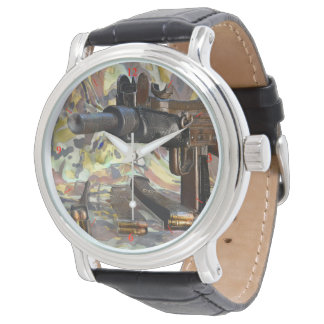 Relógio De Pulso Uzi, lógica entortada