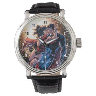 Relógio De Pulso Variação cómica do cobrir #12 da liga de justiça
