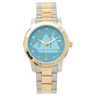 Relógio De Pulso Veleiro azul