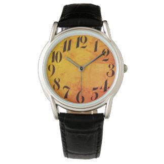 Relógio De Pulso Vintage_Clock-face_Retro_Modern_Multi-Styles