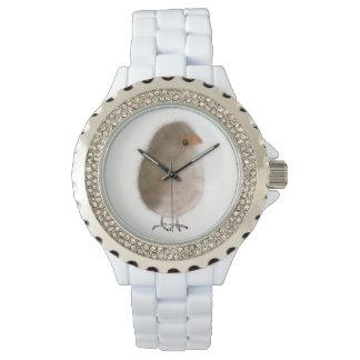Relógio De Pulso Wach bonito da noiva do pássaro pela gema Orte