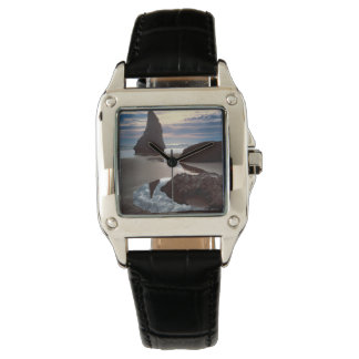 Relógio De Pulso Wayside Espinho-Dado forma da rocha da cara do
