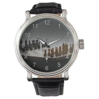Relógio De Pulso Xadrez com números
