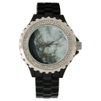 relógio de senhoras branco de quartzo