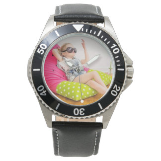 Relógio de senhoras da melancia