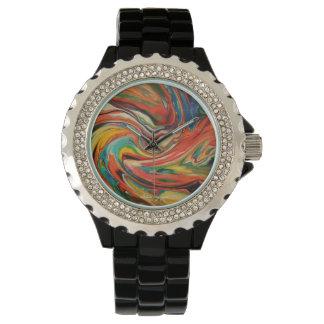 Relógio de senhoras exclusivo da forma dos arty