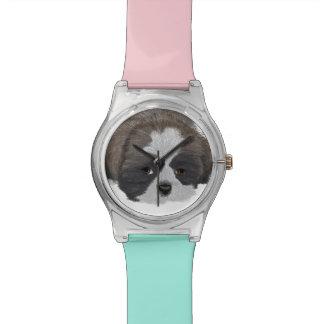 Relógio de Shih Tzu