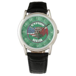 Relógio de Wales EUA do americano de Galês