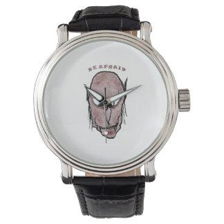 Relógio Desenho assustador do vampiro