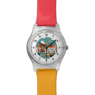 Relógio Design geométrico de St Louis, Missouri
