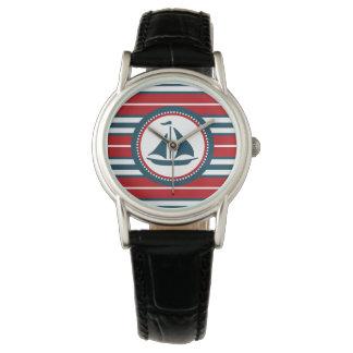 Relógio Design náutico