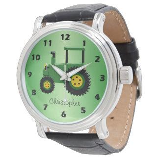 Relógio Design personalizado do trator