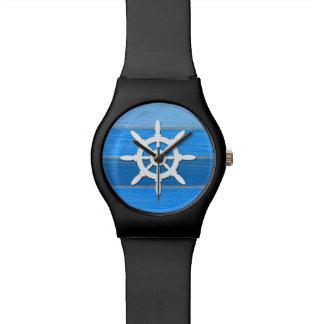Relógio Design temático náutico