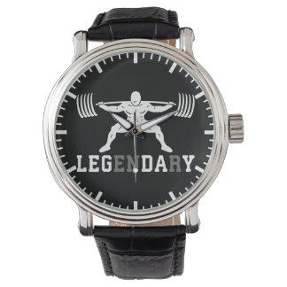 Relógio Dia do pé - legendário - ocupa - Gym inspirado