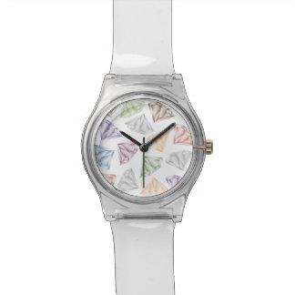 Relógio Diamantes coloridos para meu querido